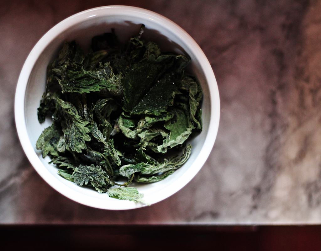 Tarassaco e ortica surgelati per mantenere le qualità nutrizionali intatte