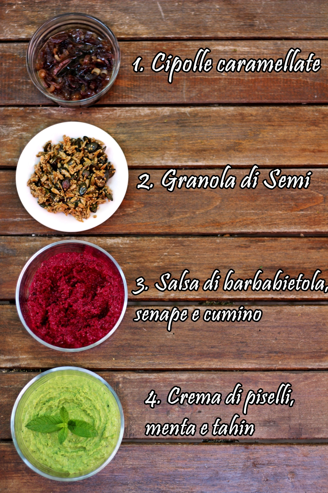 Salsine per crepes